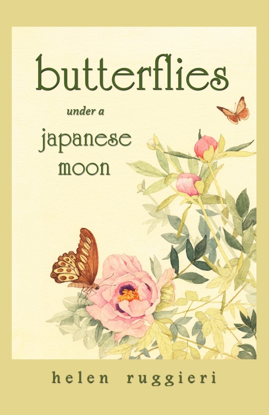 Butterflies Under a Japanese Moon